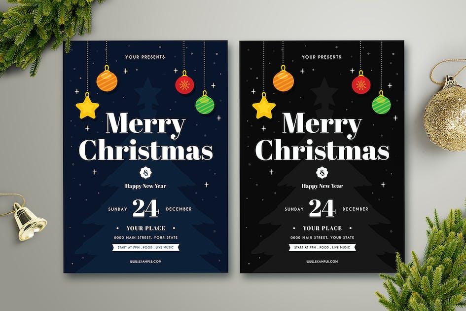 Christmas Flyer von vynetta auf Envato Elements