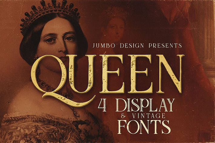 Thumbnail for Queen - Display Font