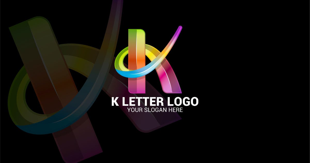 Download K LETTER LOGO by shazidesigns