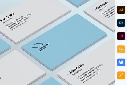 Advertising Consultant Business Card