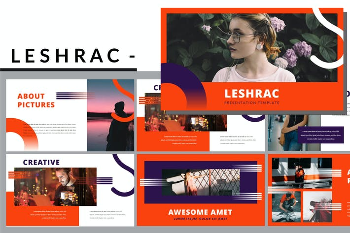 Thumbnail for Leshrac - Lookbook Powerpoint Template