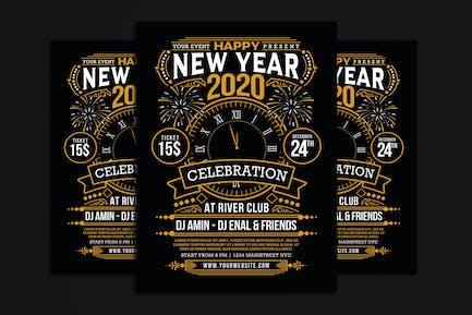 New Year 2020 Party Celebration