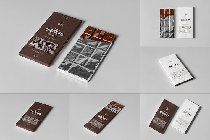 Thumbnail for Chocolate Mock-up