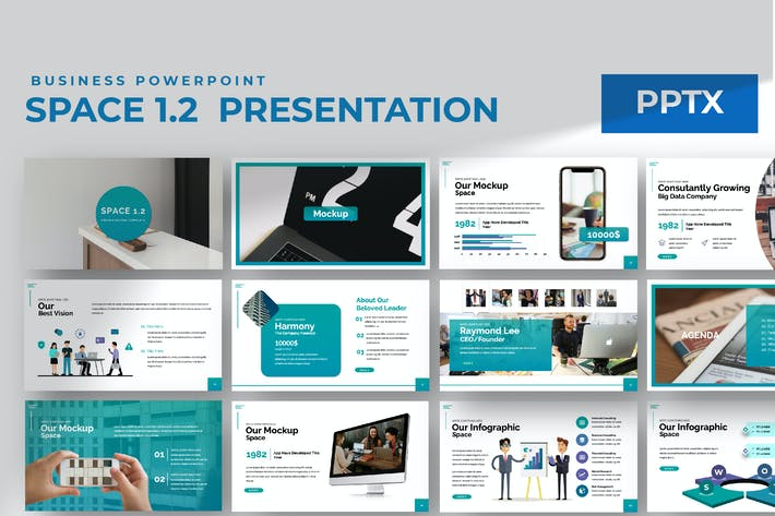 Thumbnail for Пространство 1.0 Powerpoint