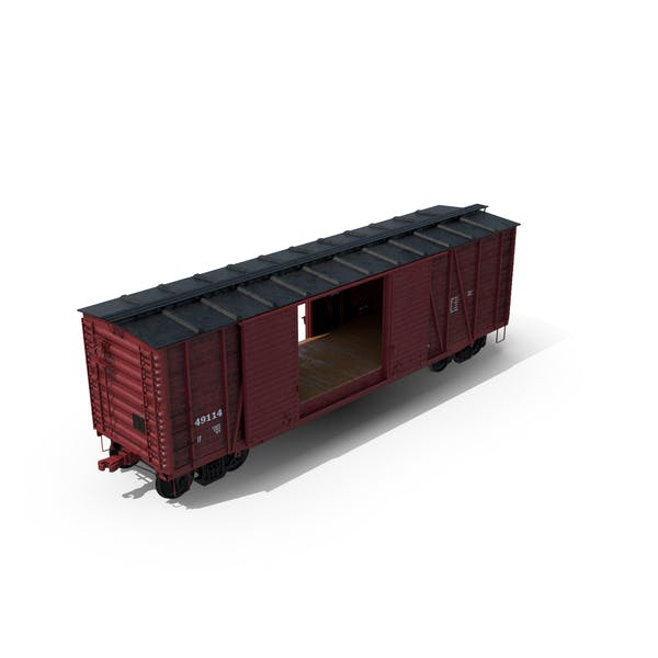 Freight Train Boxcar