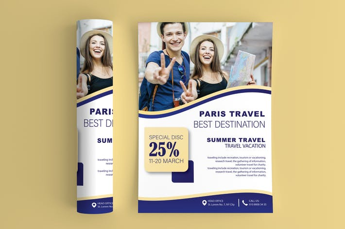 Thumbnail for Travel And Vacation Flyer