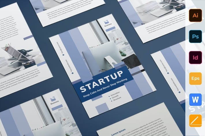 Thumbnail for Startup Flyer