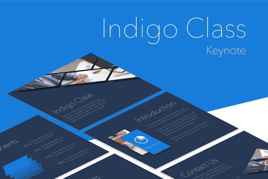 Indigo Class Keynote Template
