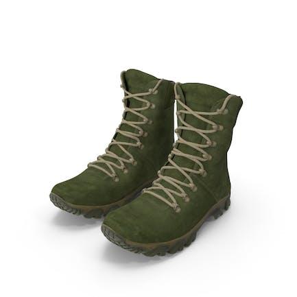 Сапоги Военная Зеленый