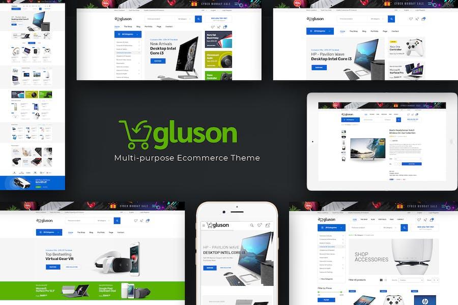 Gluson - Digital Responsive Prestashop Tema