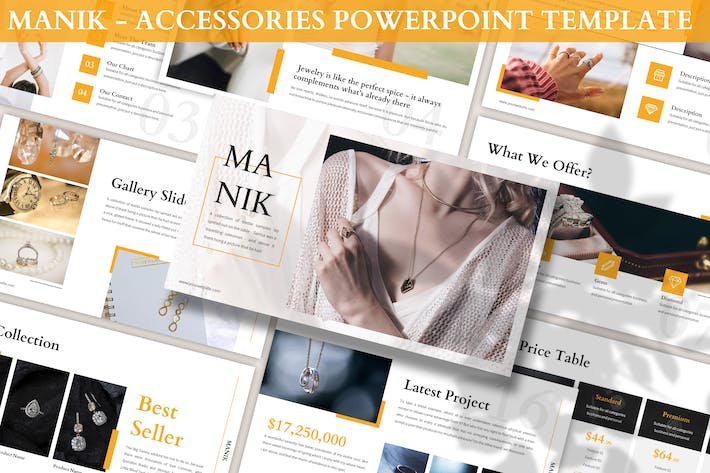 Thumbnail for Manik - Accessories Powerpoint Template