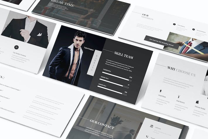 Thumbnail for Lexi Tailor Keynote Template