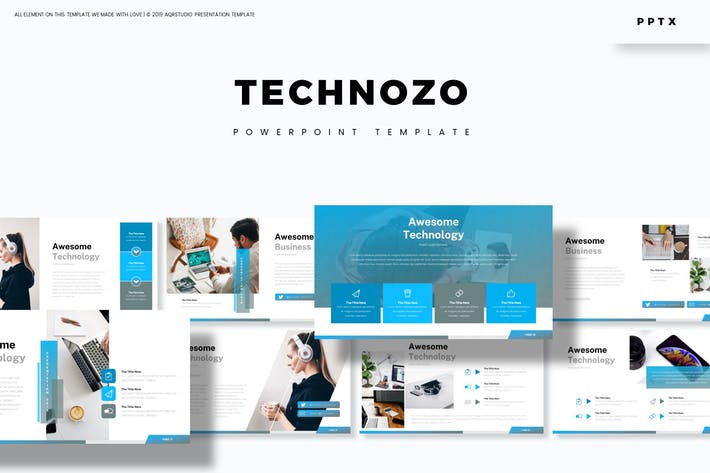 Cover Image For Technozo - Powerpoint Template