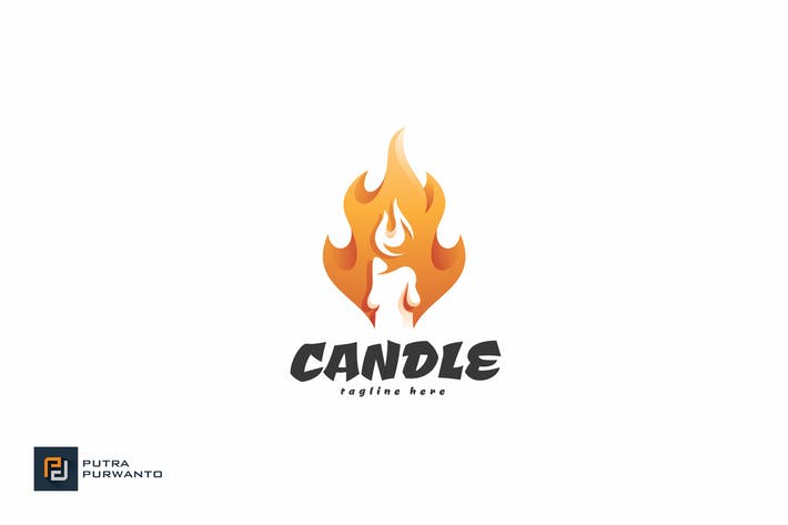 Thumbnail for Candle - Logo Template
