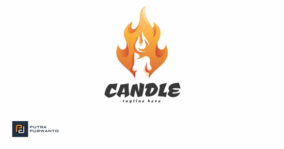 Download Candle - Logo Template by putra_purwanto