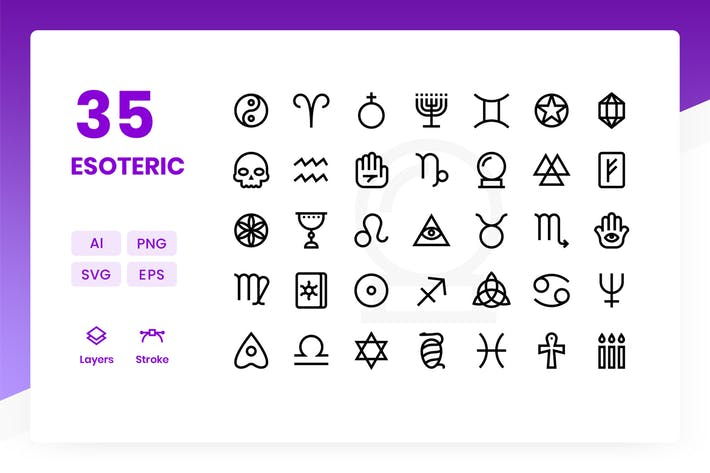 Esoteric - Icons Pack