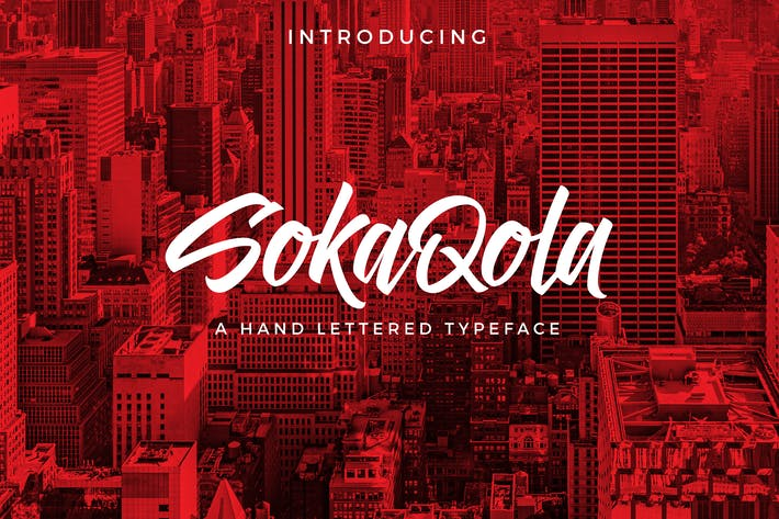 Cover Image For SokaQola Font
