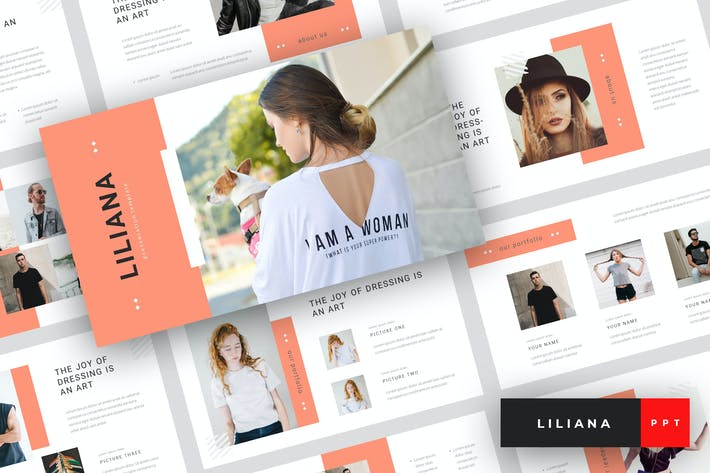 Thumbnail for Liliana - Fashion Style PowerPoint Template