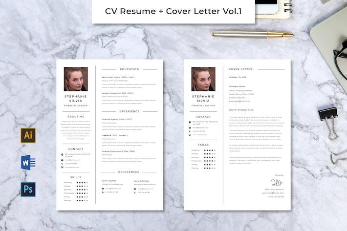 Thumbnail for CV Resume Vol.1