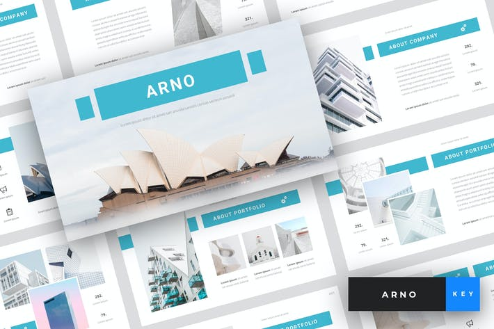 Thumbnail for Arno - Architecture Keynote Template
