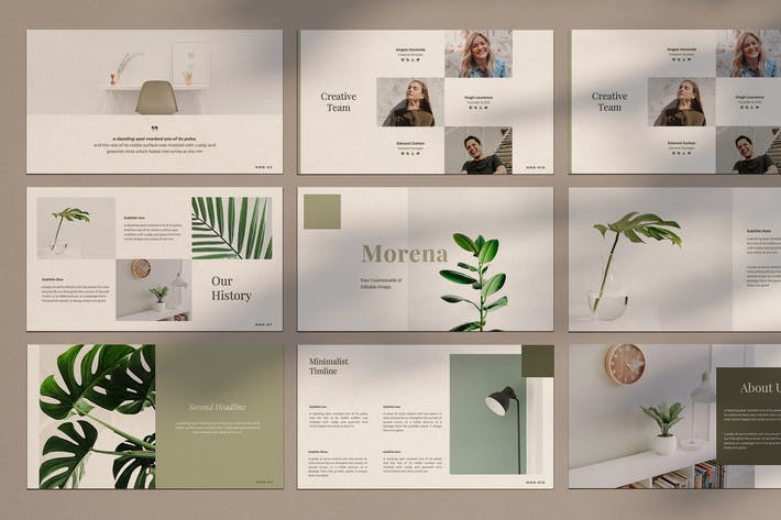 Cover Image For Morena - Powerpoint Template