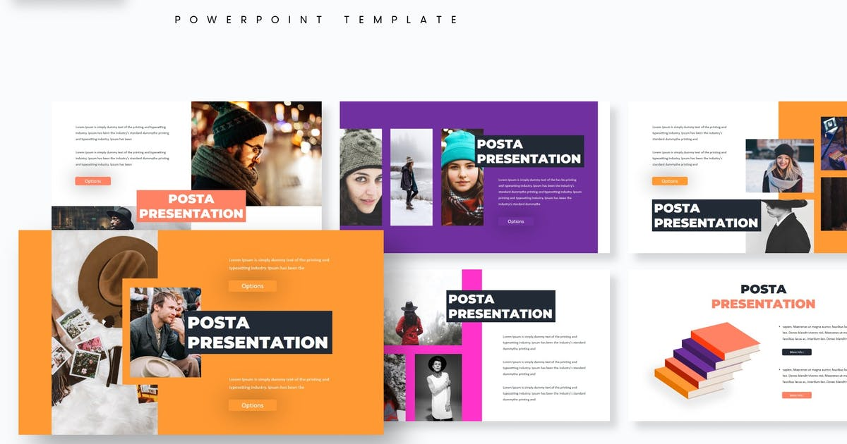 Download Pozta - Powerpoint Template by aqrstudio
