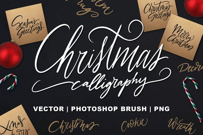 Christmas Calligraphy Mega Pack
