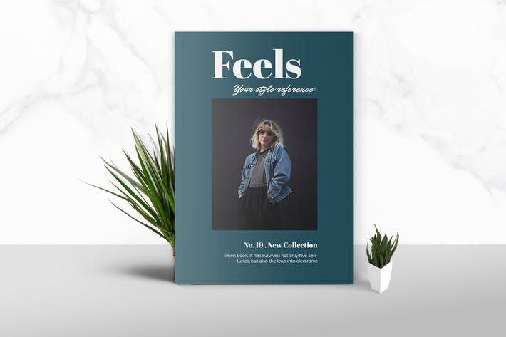 Thumbnail for Feels  - Fashion Magazine Template