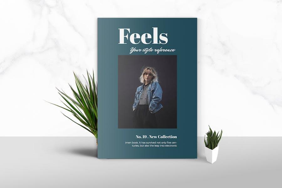 Feels  - Fashion Magazine Template