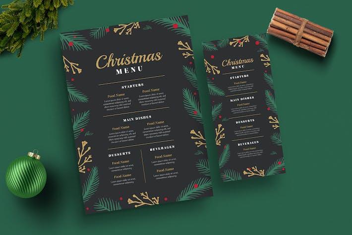 Special Christmas Menus