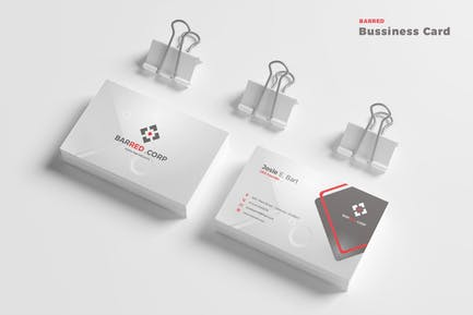 Barred Bussines Card