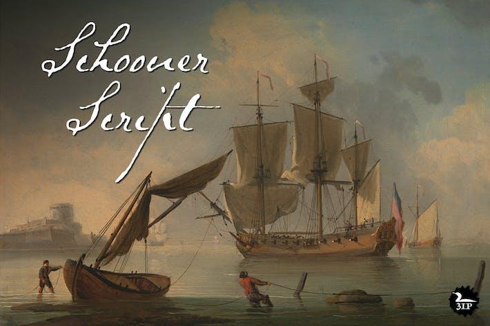 Thumbnail for Schooner Script