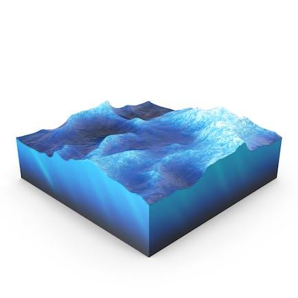 Wasserquerschnitt