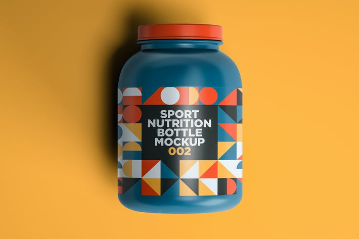 Thumbnail for Sport Nutrition Flasche Mockup 002