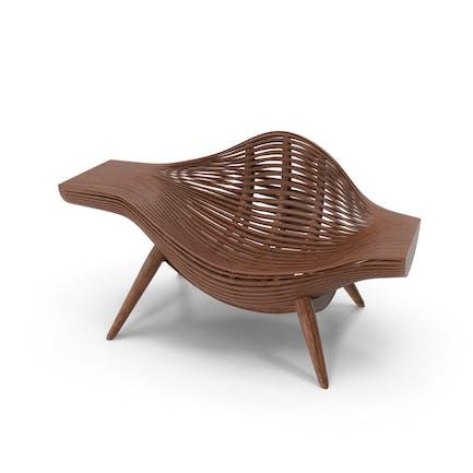 Holzkorb Stuhl