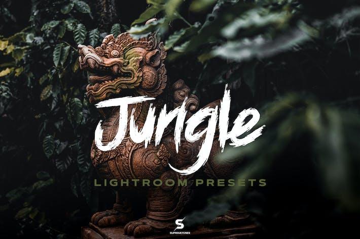 Jungle Lightroom Presets - Cinematic Green Forest
