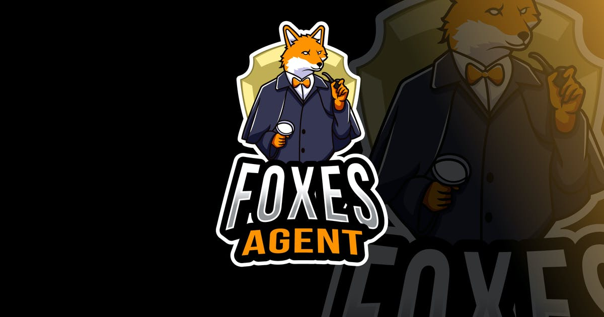 Download Foxes Agent Logo Template by IanMikraz