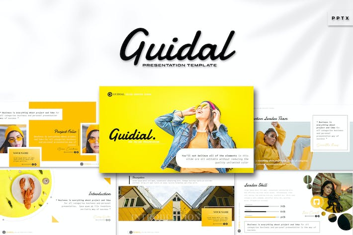 Thumbnail for Guidal - Powerpoint Template