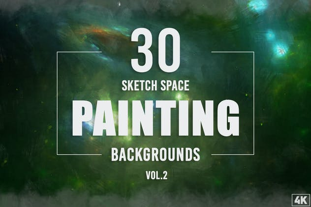 30 Sketch Space Painting Backgrounds - Vol. 2