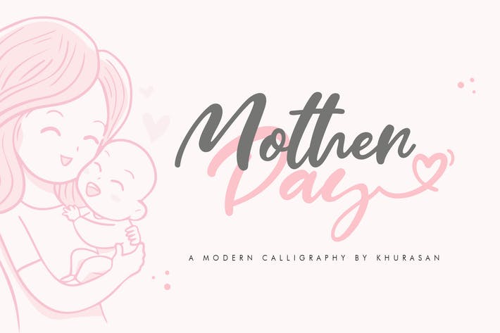 Thumbnail for Mother Day Font
