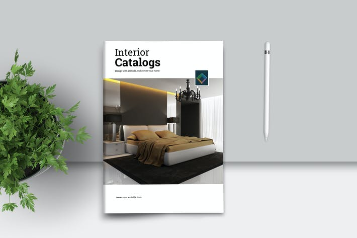 Thumbnail for PSD - Interior Catalogs Brochures