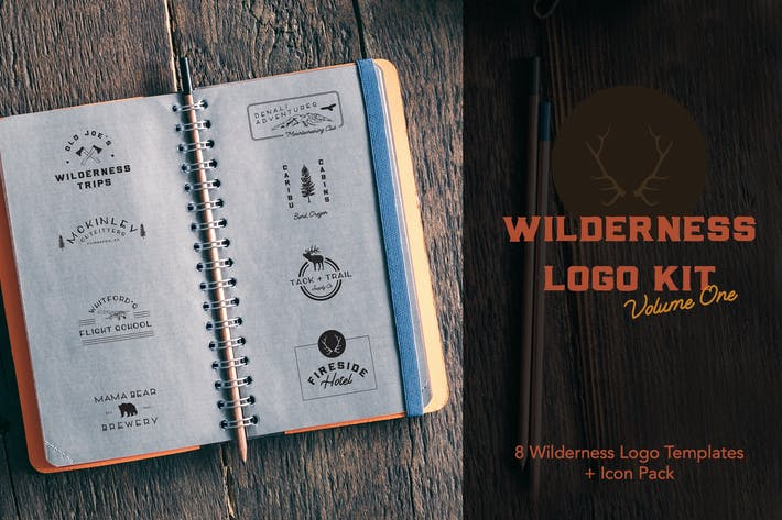 Thumbnail for Wilderness Logo Kit | Volume 1