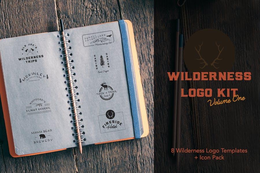 Kit de Logo de Wilderness   Volumen 1