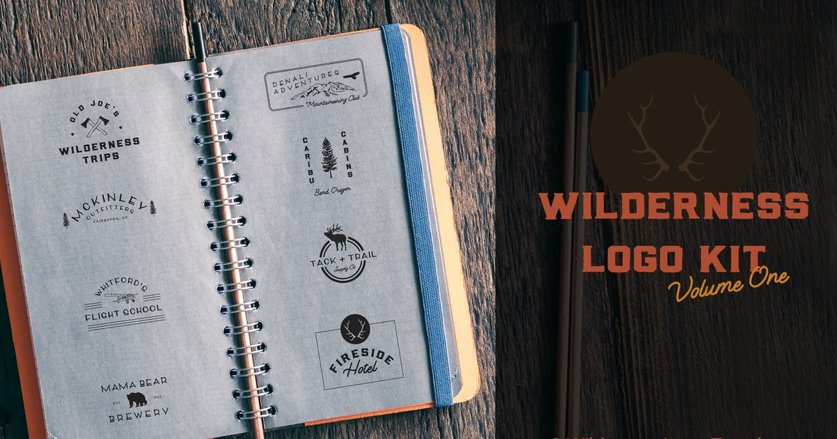 Download Wilderness Logo Kit | Volume 1 by thinkmake