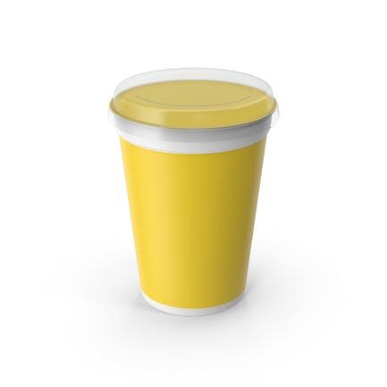 Taza de yogurt