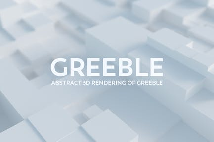 Abstract 3D Rendering Of Greeble