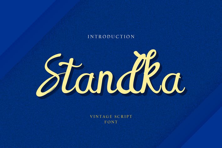 Thumbnail for Standka Handwritten Font