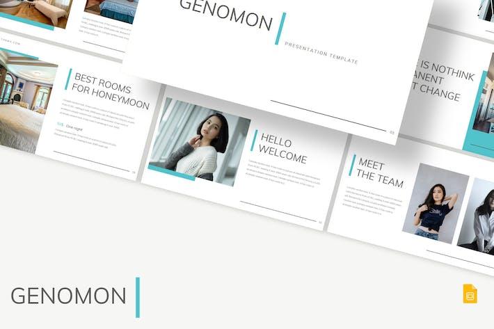 Thumbnail for Genomon - Google PräsentationsVorlage