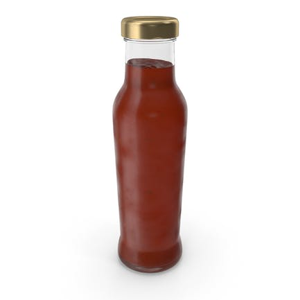 Barbecue Sauce Glass Bottle