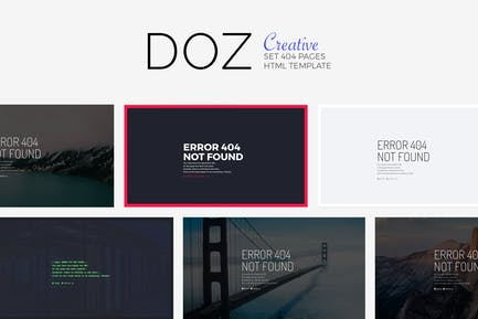 DOZ - Creative 404 Seiten
